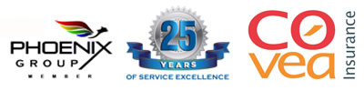 Phoenix group, 25 years of service, COVEA